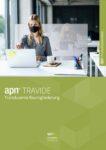Technisches Datenblatt zur Transluzenten Raumgliederung apn Travide - Spuckschutz, Virenschutz und Sichtschutz in Einem. Optimal für den Einsatz im Büro.